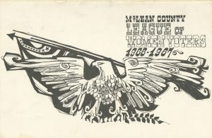 League of Women Voters of McLean County 1966-1967 Yearbook cover