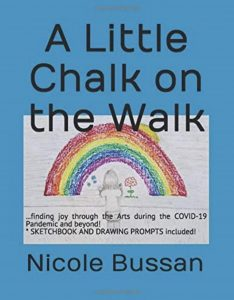 Book cover, A Little Chalk on the Walk by Nicole Bussan