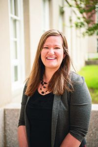 Dr. Jennine Harvey-Northrop, an associate professor in the Department of Communication Sciences and Disorders (CSD) at Illinois State University.