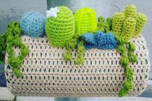 Cactus yarn on structure