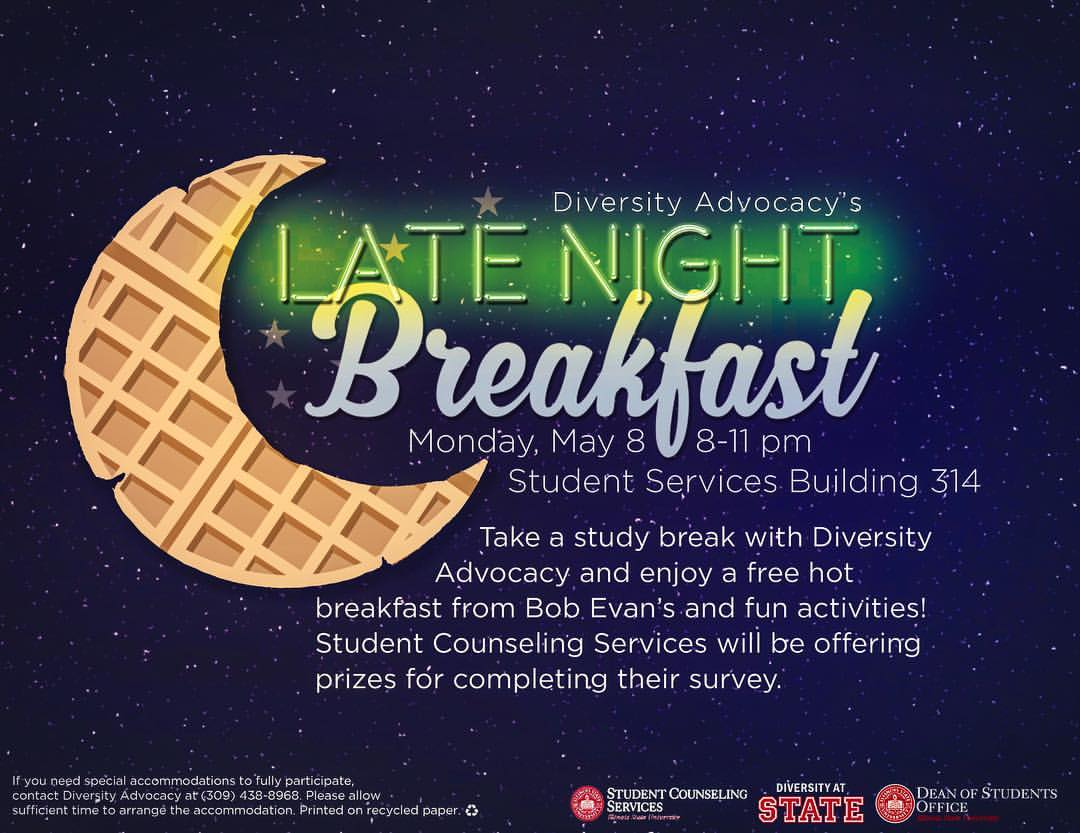 Late Night Breakfast graphic