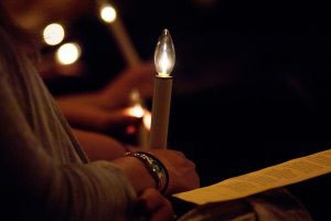 A Tradition At Mennonite College Of Nursing Is To Celebrate Those Students  Graduating In May At A Formal Candlelighting Ceremony.