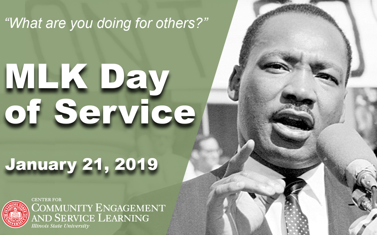 Martin Luther King Jr Day Of Service Events Illinois State