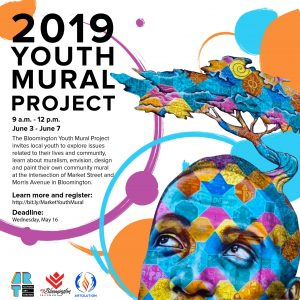 2019 Youth Mural Project flyer